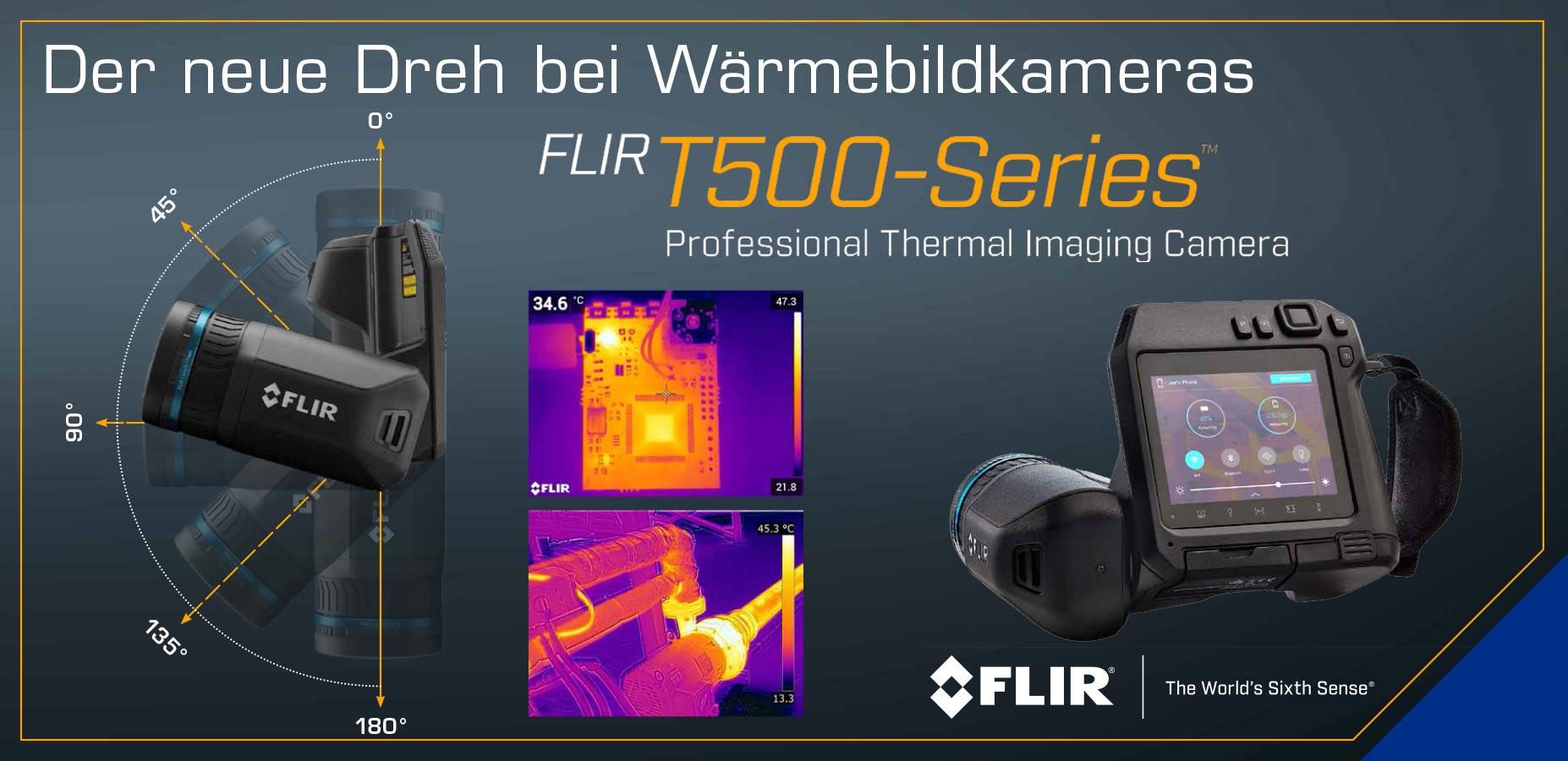 FLIR T500 - Der neu Dreh