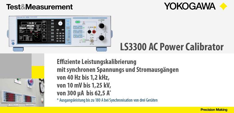 LS3300 Power Calibrator