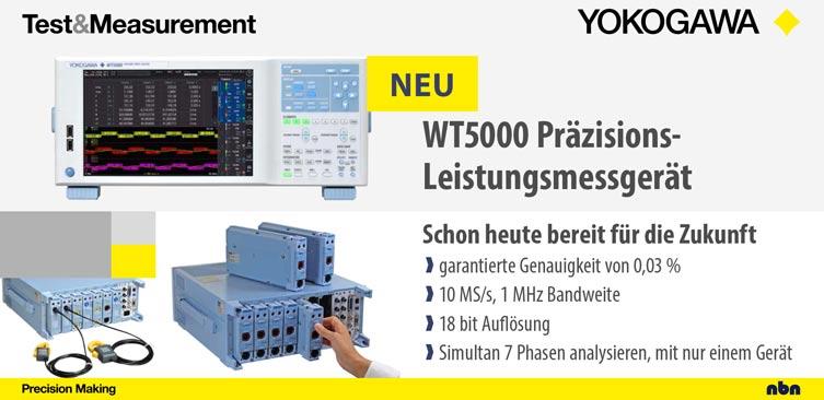 WT5000 Power Analyzer